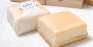 日本酒とお米のチーズケーキ 八極