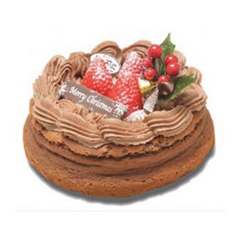 チョコテートチーズケーキ